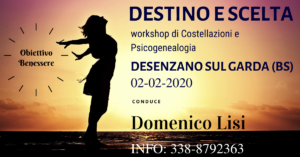 Destino e Scelta, workshop @ Desenzano sul Garda (BS)